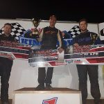 Qld Wingless Sprints Title podium cropped